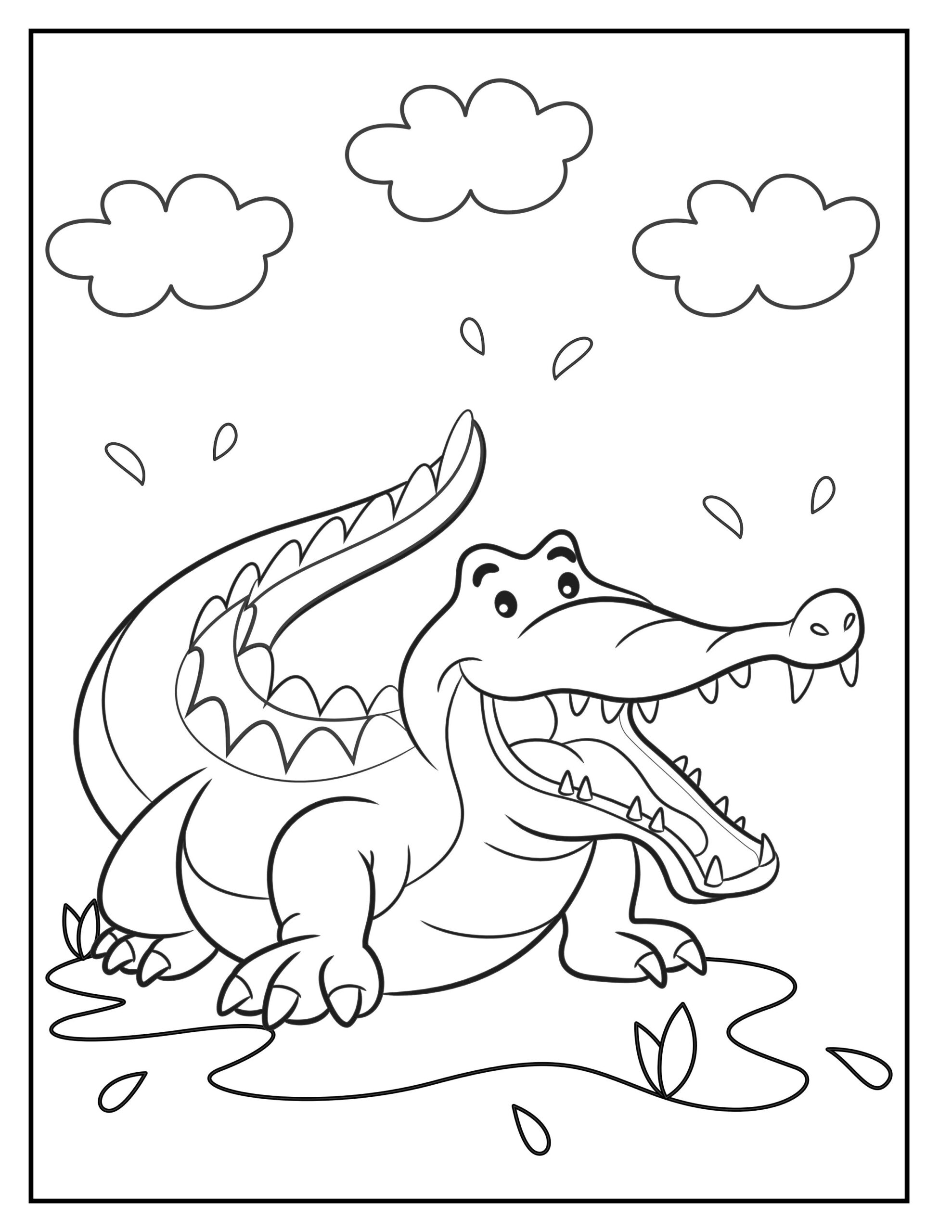 animal coloring pages printable