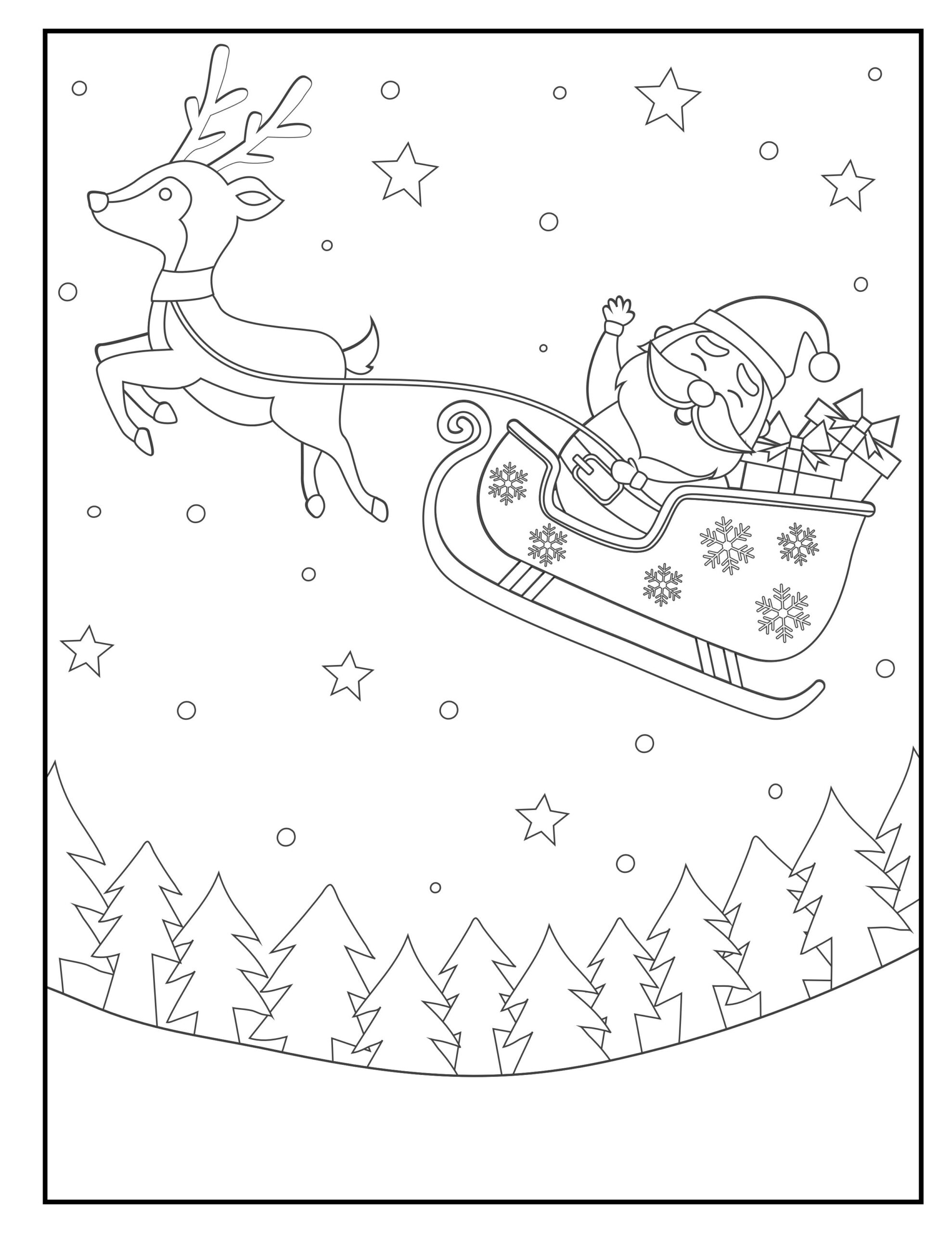 Christmas Coloring Pages Printable