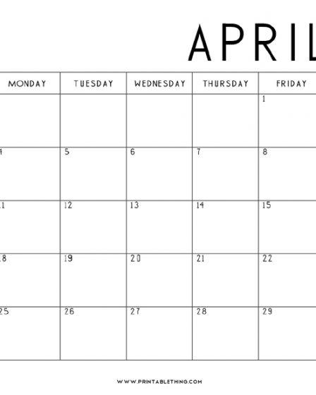April-2022-Calendar-Printable