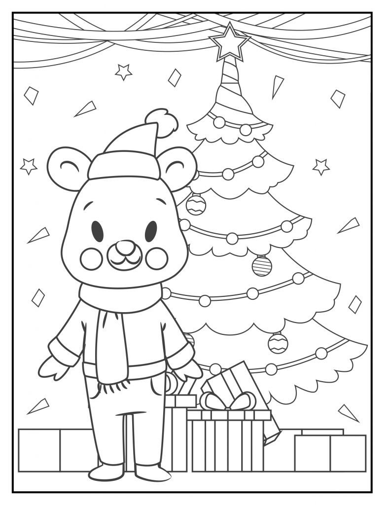 Free Christmas Coloring Pages Printable