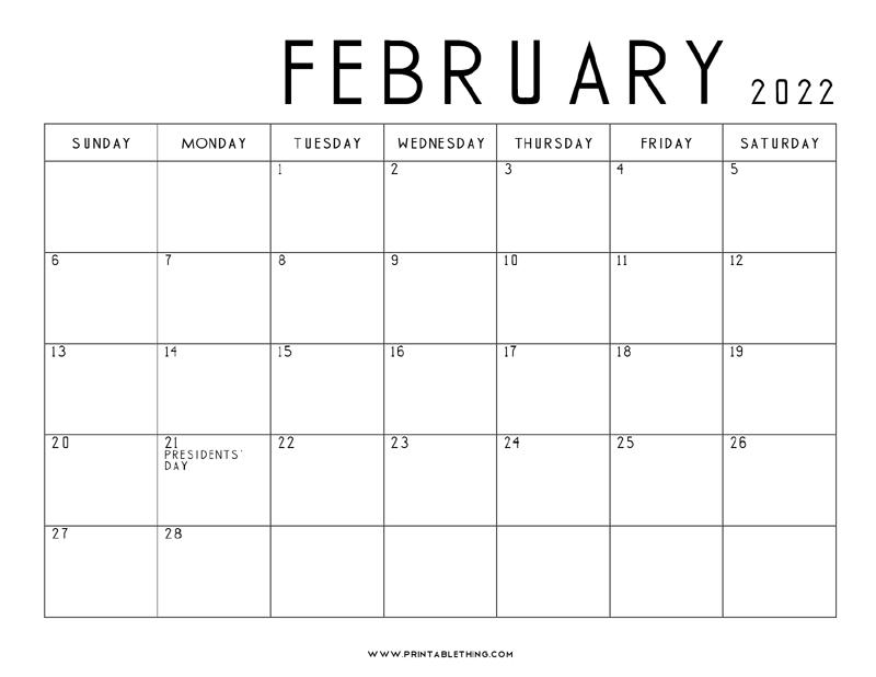 February-2022-Calendar-Printable