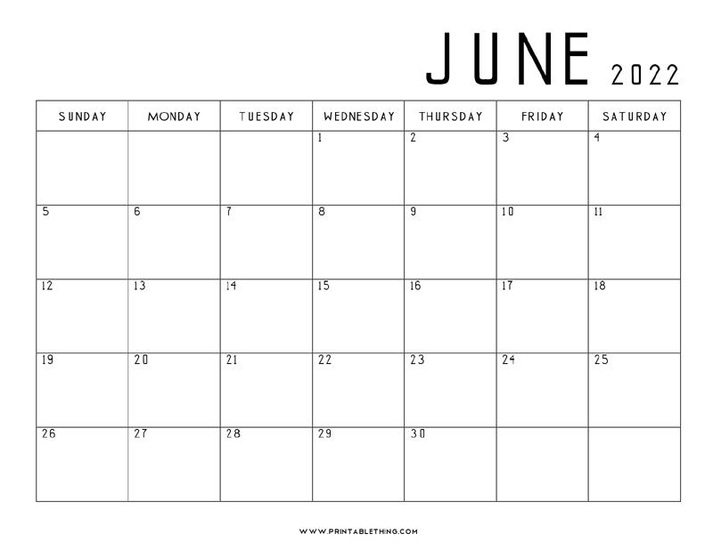 June-2022-Calendar-Printable