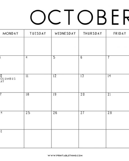 October-2022-Calendar-Printable